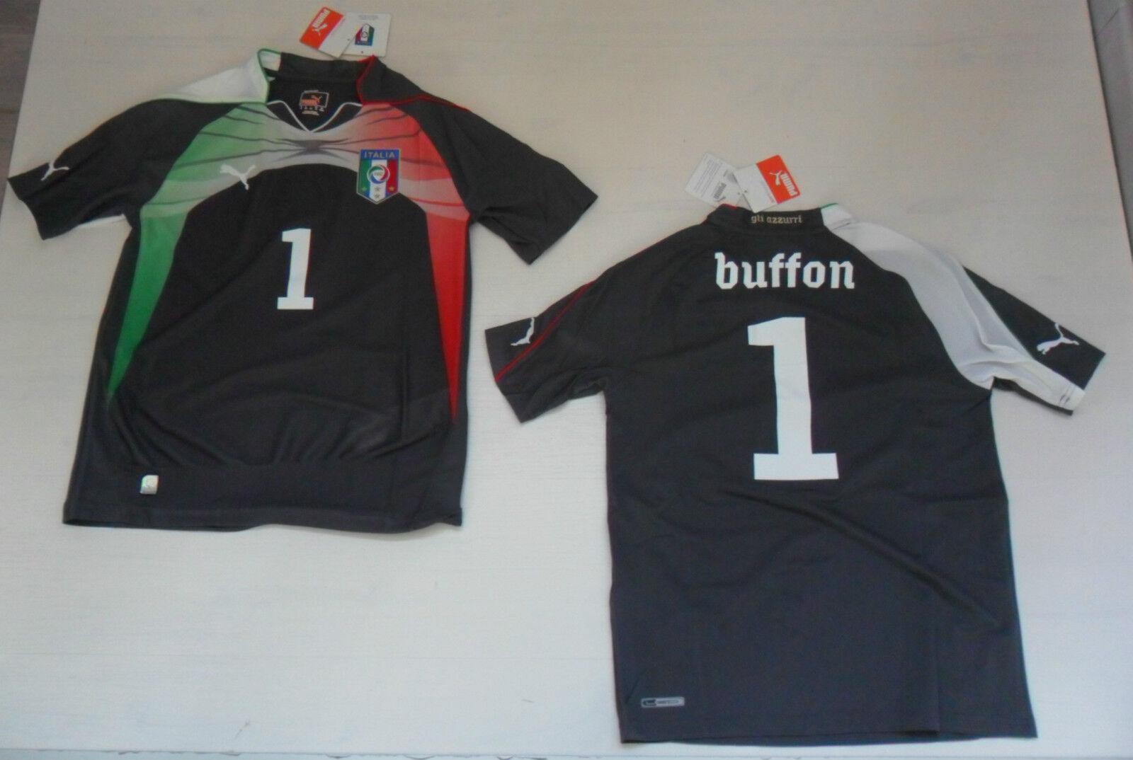 FW13 PUMA  14 anni ITALIA BUFFON MAGLIA BAMBINO PORTIERE MAGLIETTA junior SHIRT