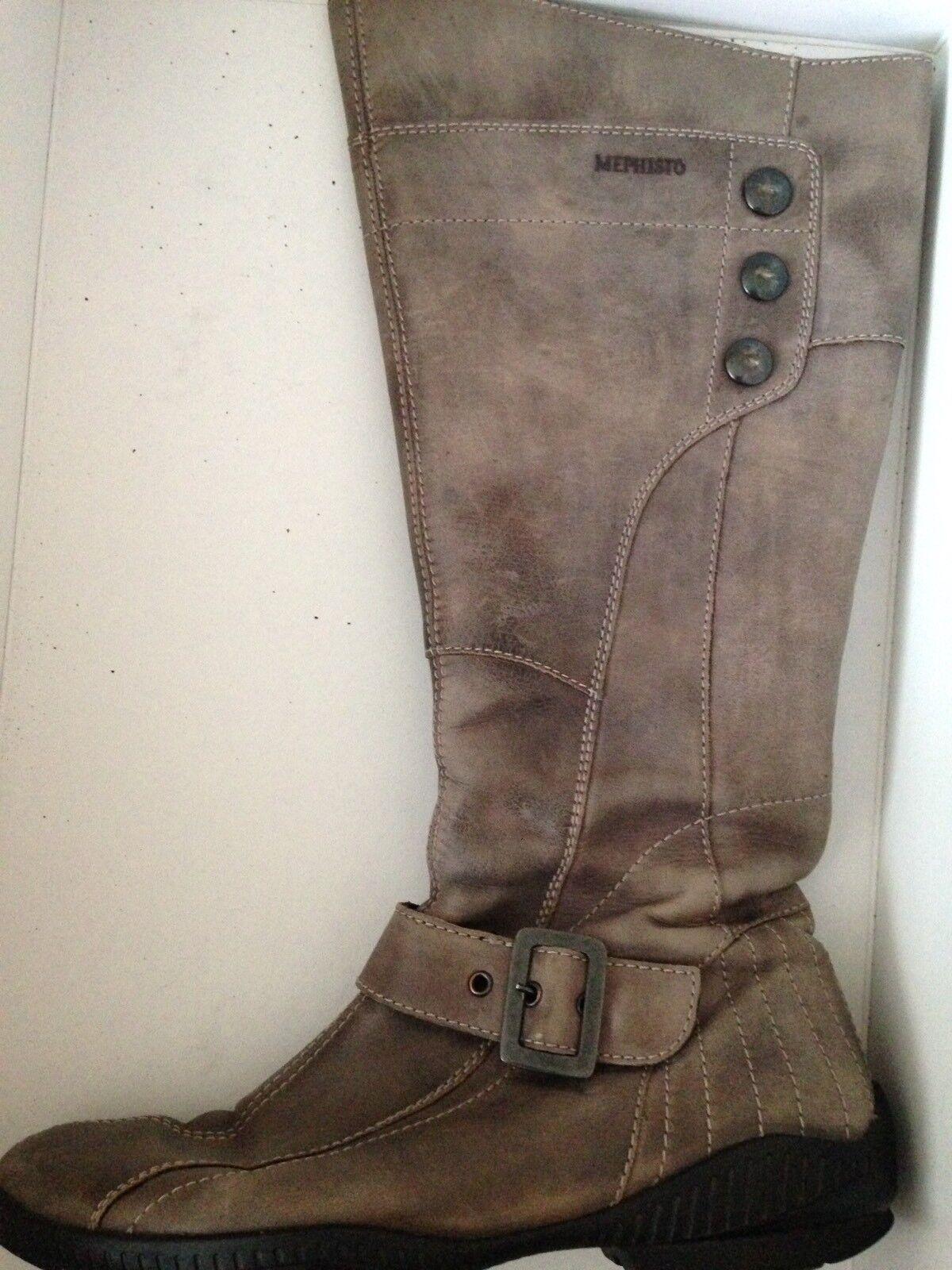 MEPHISTO Gr. 39 US Stiefel 8 1/2 EUR 6 Stiefel US Reissverschluss Sarah 9365 12b1f9