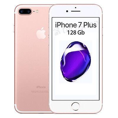 Apple • iPhone Sette PLUS 128Gb ROSE GOLD • GARANZIA 2 ANNI • Oro Rosa 5.5 NUOVO
