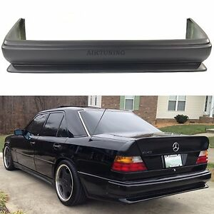 Details about Mercedes Benz W124 AMG 2 Style Full Rear Bumper Spoiler For  Coupe Saloon Estate