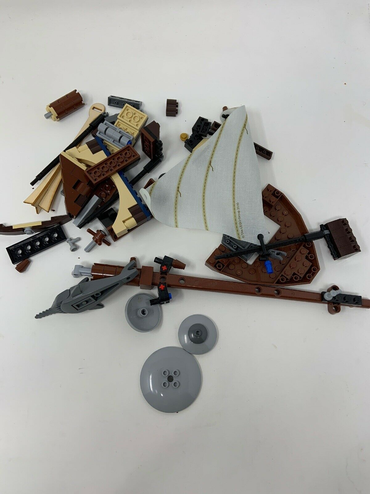 Lego Pirate 71041 Ship Boat Vintage Set Parts Lot