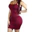 Women-Bandage-Bodycon-Tops-Sleeve-Evening-Party-Cocktail-Club-Long-Tank-Dress thumbnail 6