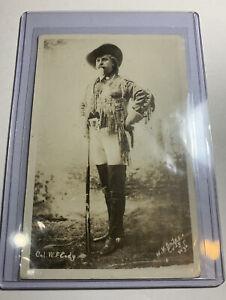 Buffalo-Bill-Cody-RPPC-Real-Picture-Postcard