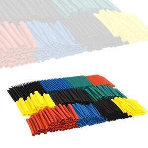 530-Pcs-2-1-Heat-Shrink-Tubing-Tube-Sleeving-Wrap-Cable-Wire-5-Color-8-Size-USA