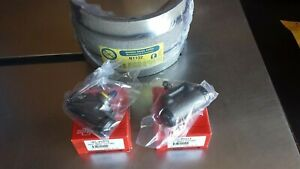 NEW REAR DRUM BRAKE SHOES & WHEEL CYLINDERS .. HR HOLDEN DISC BRAKE FRONT