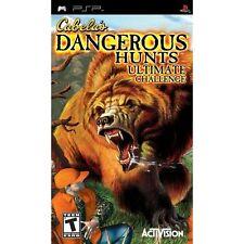 Cabela's Dangerous Hunts Ultimate Challenge Sony For PSP UMD 8E