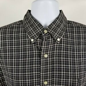 Ralph-Lauren-Blake-Mens-Black-Check-Plaid-Dress-Button-Shirt-Sz-Large-L