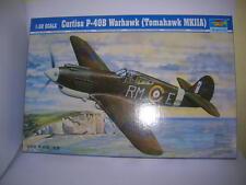 Trumpeter Curtiss P-40B Warhawk (Tomahawk MKIIA) 1:32 Bausatz Kit 02228 Flugzeug