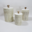 3-Vintage-1978-Sears-Roebuck-Mother-in-the-Kitchen-Ceramic-Canisters-w-Lids thumbnail 3