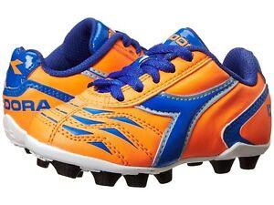 adfd2f03d3ab Kid's Diadora Capitano MD JR Soccer Cleats - Orange/Blue - NIB! | eBay