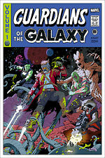 Guardians of the Galaxy Variant Movie Poster by Paolo Rivera Mondo 24x36 #/225
