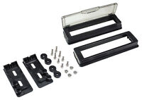 Stereo Radio Cd Player Installation Mounting Kit W Cover 96-2013 Harley Touring on sale