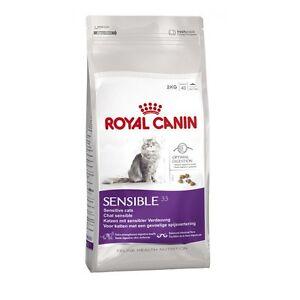 Royal Canin Sensible Chat Adulte Sec Nourriture De Équilibré Et Complete 10kg