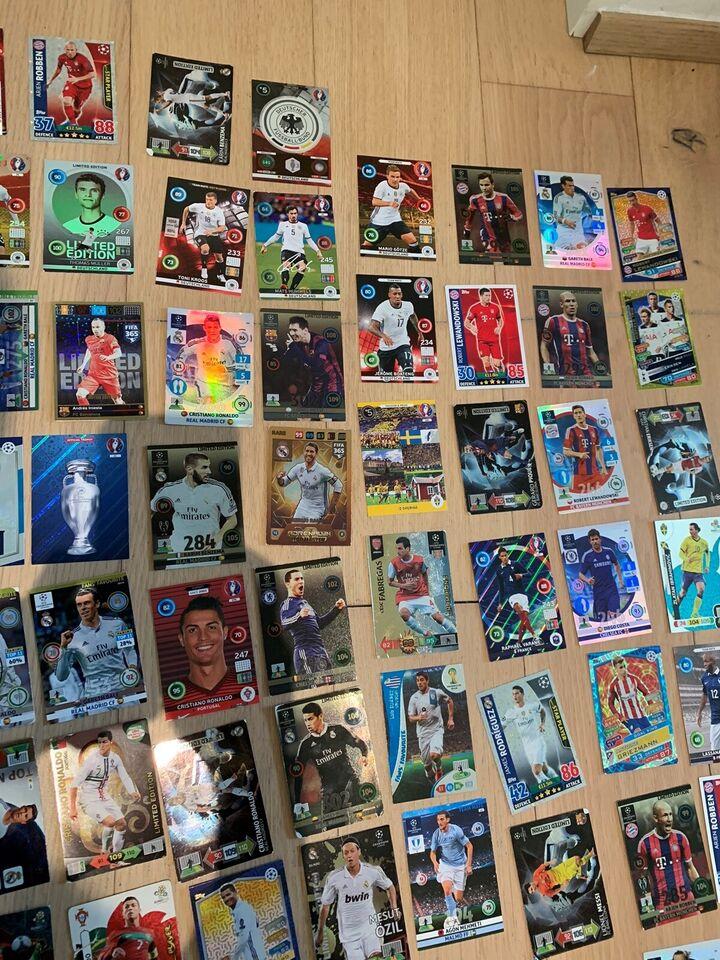 Andet legetøj, Fodboldikort , Mange forskellige kort