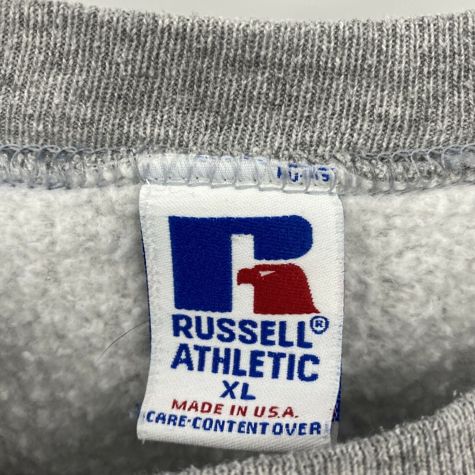 VTG 80's Russell Athletic XL Russell Green Bay Pa… - image 5