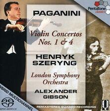 Henryk Szeryng, N. P - Violin Concertos 1 & 4 [New CD]