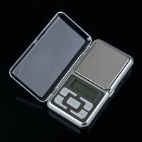 0.1g-500g Digital Pocket Weigh Mini Scales Gold Kitchen Jewellery Scale Herbs SY