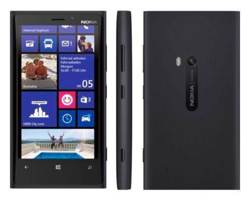 New Original Unlocked Nokia Lumia 920 32GB 8MP 4G LTE Smartphone Black