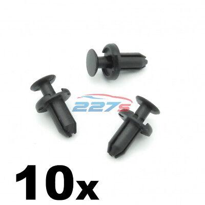 identico a TOYOTA 90467-05170 10x piccoli rivetti in plastica per un foro di 5mm