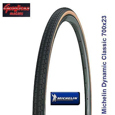 """1 Copertone Michelin Dynamic Classic Nero/Para 700x23 PER BICI 28"""" TREKKING"""