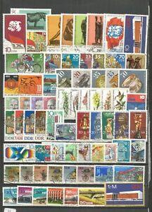 DDR-1976-gestempelt-kompletter-Jahrgang-mit-allen-Einzelmarken-Super-Stempel
