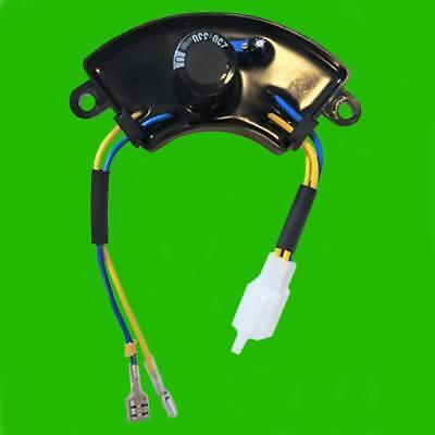 Champion Power Round AVR /& Carbon Brush for 46506 122.190200.04 Volt Regulator