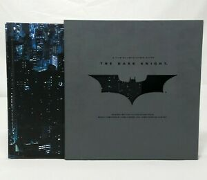 Batman-The-Dark-Knight-Soundtrack-Collectors-Edition-Deluxe-Special-Set-Book-CDs
