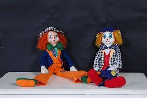 Bambola-clown-pagliaccio-vintage-toy-sbirulino-giorco-anni-80-stoffa-e-plastica