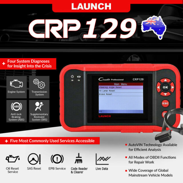 LAUNCH X431 OBD2 Diagnostic Scanner SAS EPB ABS SRS Oil Reset Scan Tool FOXWELL