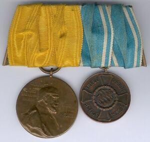 2er-Ordensspange-Preussen-Bayern-Centariemedaille-Medaille-fuer-treue-Dienste