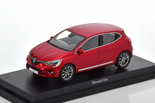 RENAULT CLIO 4 2019 RED NOREV 517587 1//43 ROSSO ROUGE ROT METAL FOR DOORS