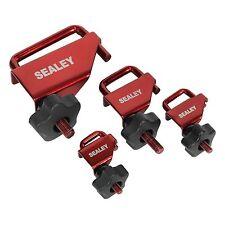 Sealey VS0301 Alloy Hose Pinch Tool Set 4pc - For Fuel / Vacuum / Brake Hose