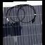 miniatura 5 - 120W Panel Solar Flexible Alta Potencia 21 VMAX Policristalino 12V carga lenta
