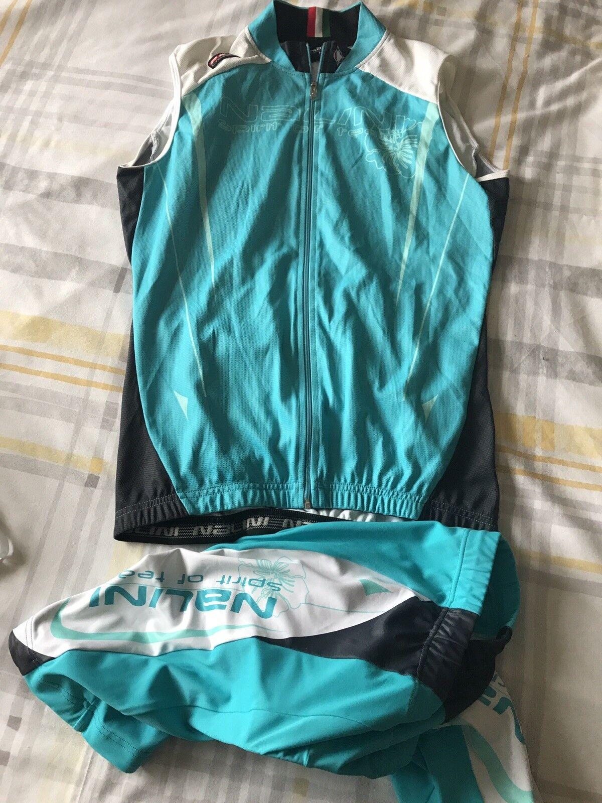 Nalini Damenschuhe Damenschuhe Damenschuhe Cycle Kit Large Turquoise Shorts Jersey ab55b3