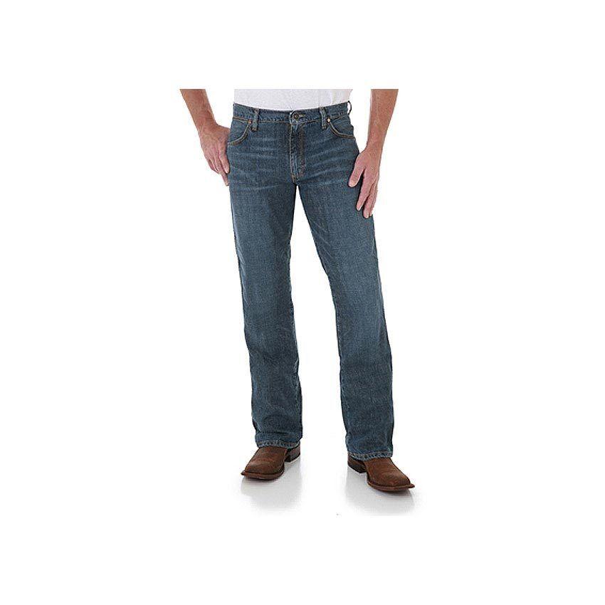 WRANGLER RETRO® 77MWZHT blueE Slim Fit Boot Cut Jean- NO TAX SELL