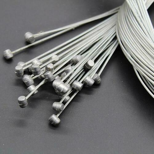 10pcs Steel Bicycle Brake Derailleur Shifter Shift Cable Inner Wire Brake Cables