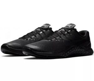 Details about Nike Metcon 4 Triple Black Men's Cross Training Gym Shoes  AH7453-001 with box