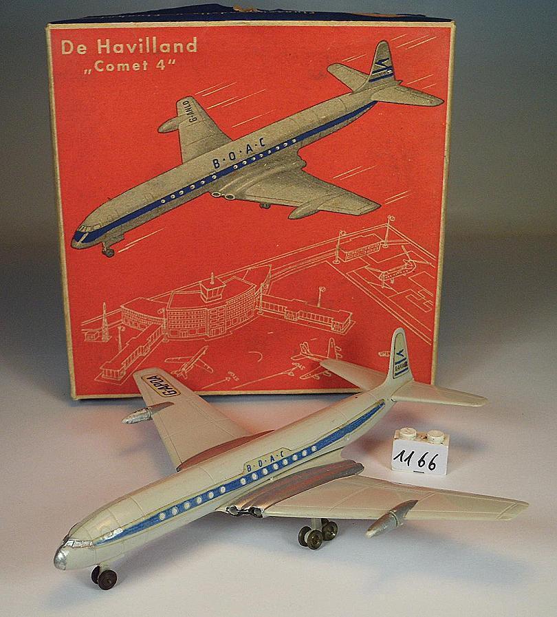 Siku PLASTICA 1 250 Siku f5a aereo de Havilland Comet 4 BOAC OVP  1166