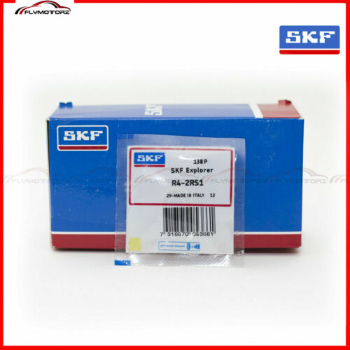 """1 PCS SKF R4 2RS Rubber Seals Ball Bearing Made in Italy RS 1//4 x 5//8 x 0.196/"""""""