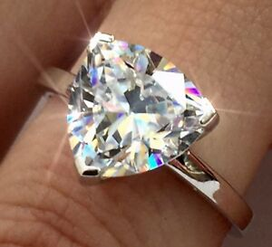 5ct-Trillion-Soliatre-Engagement-Diamond-Ring-AUTHENTIC-100-925-Sterling-Silver