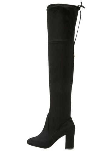 Dorothy Perkins Black Kassandra Boots UK 3 EU 36 JS37 77