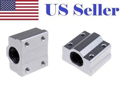 4X SC8UU SCS8UU 8mm Linear Ball Bearing Linear Motion Bearing Slide For CNC ST