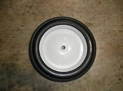 1//2 in AXLE Sensation Mow 196054 SOLID RUBBER 10 inch DIA x 1 3//4 inch W WHEEL