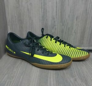 a5512cacfa Nike Mercurial Victory X CR7 Soccer Shoes Indoor Mens Sz 10.5 Green ...