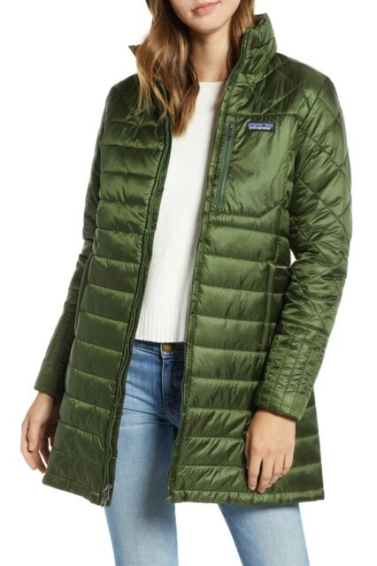 d9c13ed9173 Patagonia Women's Radalie Parka Jacket Nomad Green Slim Fit 27695 Medium
