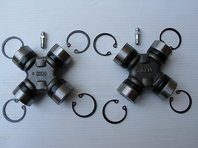 NEW GKN JOINTS RANGE ROVER P38 PROPSHAFT UJ UNIVERSAL JOINTS PAIR