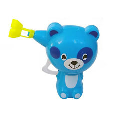Kids Cartoon Animal Model Soap Water Bubble Gun Blower Outdoor Toy Gift