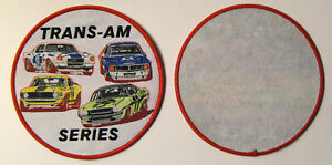 VINTAGE-TRANS-AM-SERIE-PATCH-SCCA-RACING-MUSTANG-BOSS-302-JAVELIN-CHALLENGER