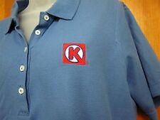 CIRCLE K Convenience Store women's XL polo shirt embroidery logo