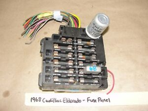 image is loading oem-1968-68-cadillac-eldorado-under-dash-fuse-